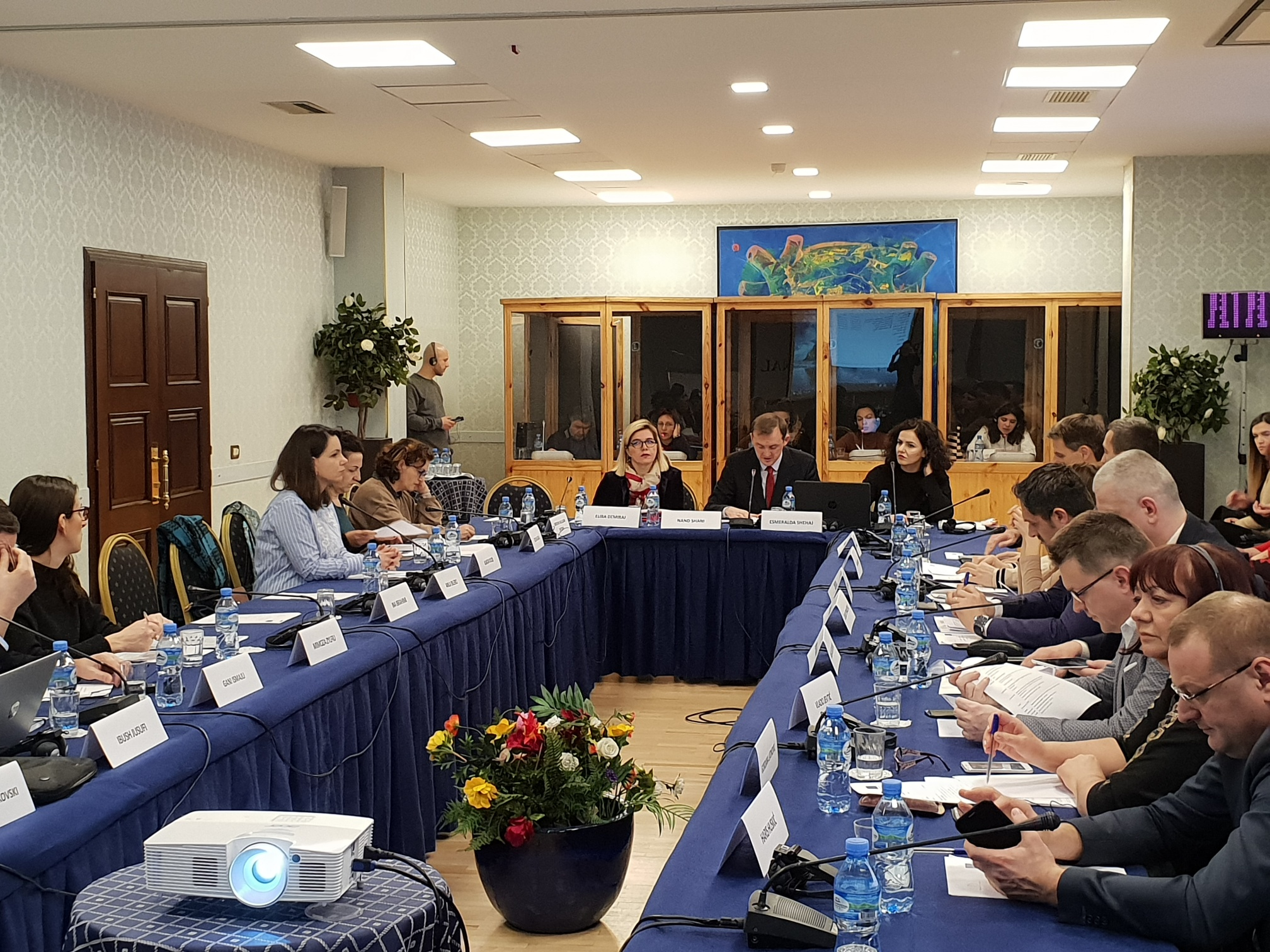 Regional Peer Review Workshop on the on-the-job training programmes in Tirana, 17-18 January 2019 (Photo: RCC/Sanda Topic)