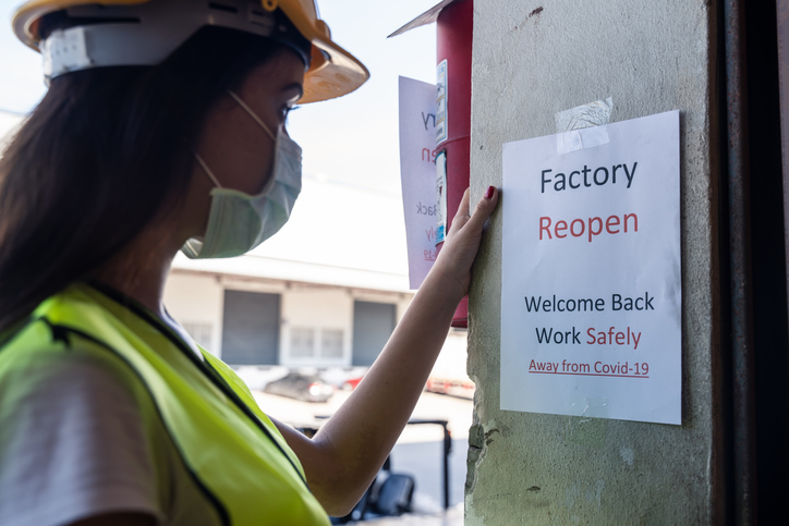 Health and safety at work in the COVID-19 pandemic: A key to reviving the labour market and the economy