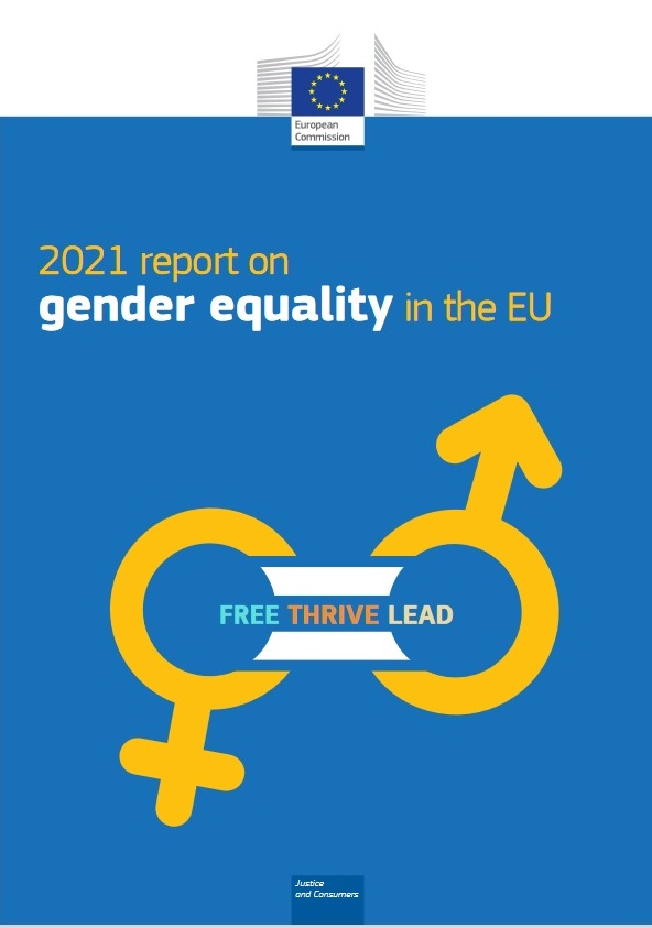 European Commission's 2021 report on gender equality in the EU