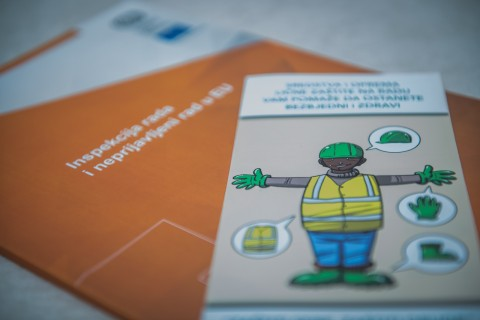 Labour Inspection campaign in the construction sector launched in Montenegro 27 February 2018