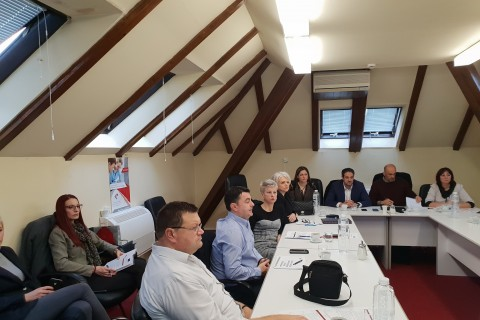 Study visit of a delegation of representatives of Public Employment Services (PES) of Bosnia and Herzegovina to the National Employment Service of Serbia aimed at strengthening capacities of PES in Bosnia and Herzegovina, in Belgrade 24-25 December 2018 (Photo: RCC/Sanda Topic)