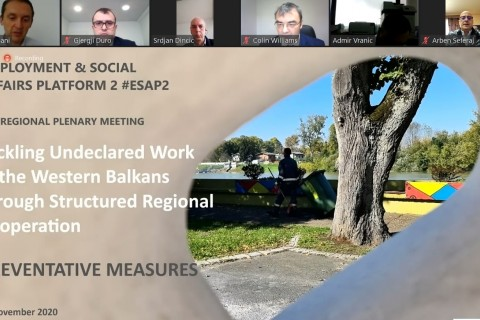 2nd Regional Plenary Meeting: Dealing with undeclared work in the Western Balkans through structured regional cooperation