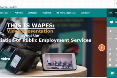 Nand ShaniTeam Leader of the RCC ESAP project,  presented the benchlearing process among the Western Balkans' PES to the World Association of Public Employment Services (WAPES), at their board meeting held in Brussels on 6-7 November 2018 (Photo: wapes.org)