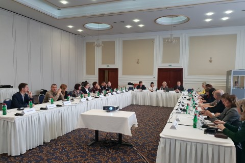 Regional peer review workshop focusing on internship programmes in Skopje 26-27 November 2018 (Photo: RCC ESAP/Sanda Topic)