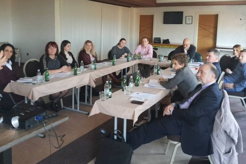 Consultative meeting with Public Employment Services of Bosnia and Herzegovina on  Benchlearning, Jahorina, 3-4 April 2018 (Photo: ESAP/Sanda Topic)