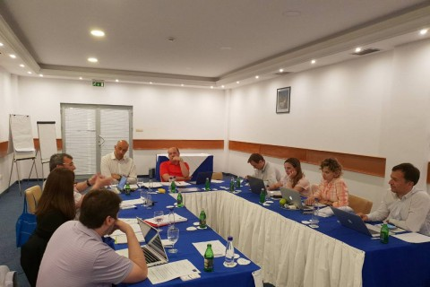 Employment and Social Affairs Platform (ESAP) Meeting with Experts on Undeclared Work, Becici, Montenegro 8-9 May 2018 (Photo: RCC ESAP/Sanda Topic)