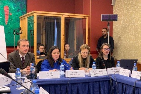 Employment and Social Affairs Platform (ESAP) organised National Workshop: Tackling Informal Employment in Albania: Current Situation and the Way Forward held in Tirana, Albania on 21 December 2018 (Photo: RCC ESAP)