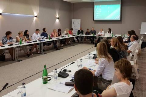 Regional peer-review workshop on youth employment, organised by the RCC's Employment and Social Affairs Platform (ESAP) in Herceg Novi, Montenegro on 30-31 May 2018 (Photo: RCC ESAP/Sanda Topic)