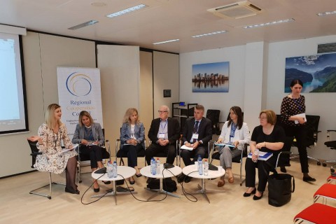 RCC ESAP: Policy Discussion on Employment and Labour Market Developments in the Western Balkans, in Brussels, 20 June 2018. (Photo: RCC ESAP/Sanda Topic)
