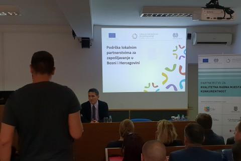 Regional Peer Review Workshop on Local Employment Partnerships, Prnjavor, 5 October 2018 (Photo: RCC ESAP/Sanda Topic)