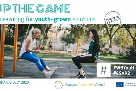 RCC's Western Balkans Youth Lab and Employment and Social Affairs Platform Projects organized webinar tackling youth unemployment in the region on 3 July 2020